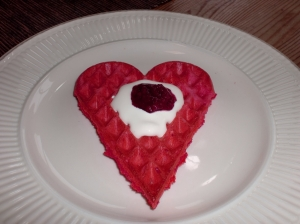 Valentinevaffel
