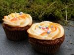 Gulrotcupcakes