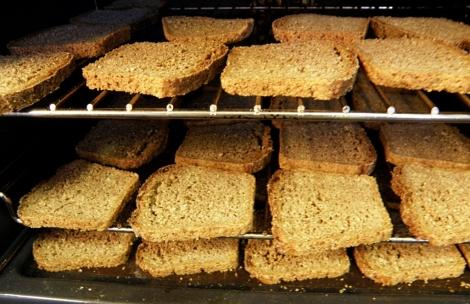 Tørket brød