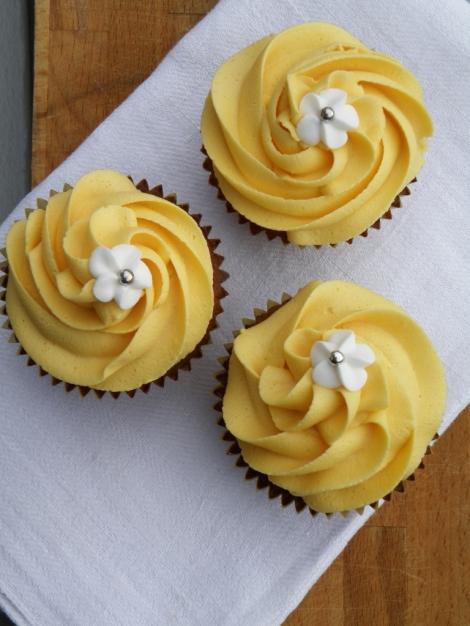 Honningcupcakes