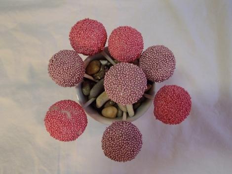 Cakepops av surmelkskake