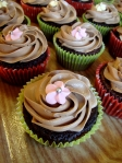 Sjokoladecupcakes