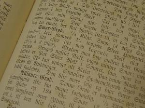 Fra en gammel kokebok fra 1901