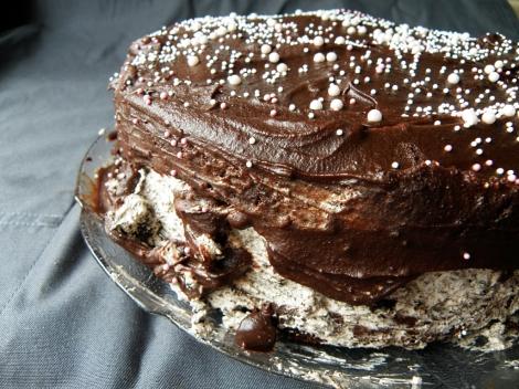 Oreo sjokoladekake