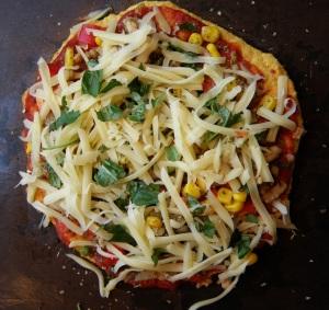 Lavkarbo pizza