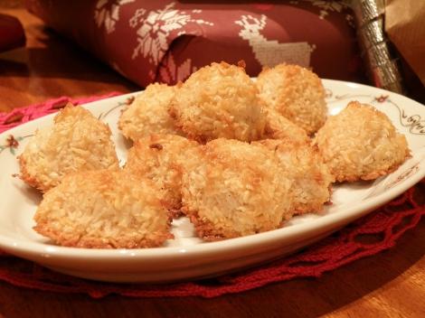 Sukkerfrie kokosmakroner