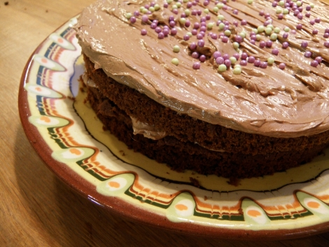 Sukkerfri sjokoladekake